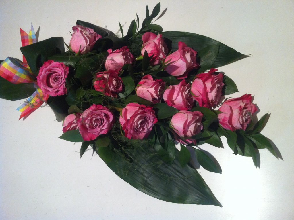 IB-016   Handgebonden rouwboeket