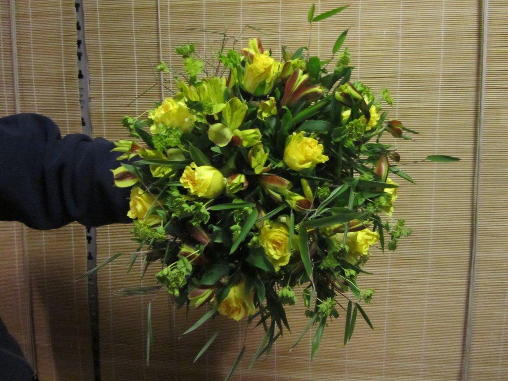 VO-009 | Handgebonden rouwboeket oefenen   Multiflora
