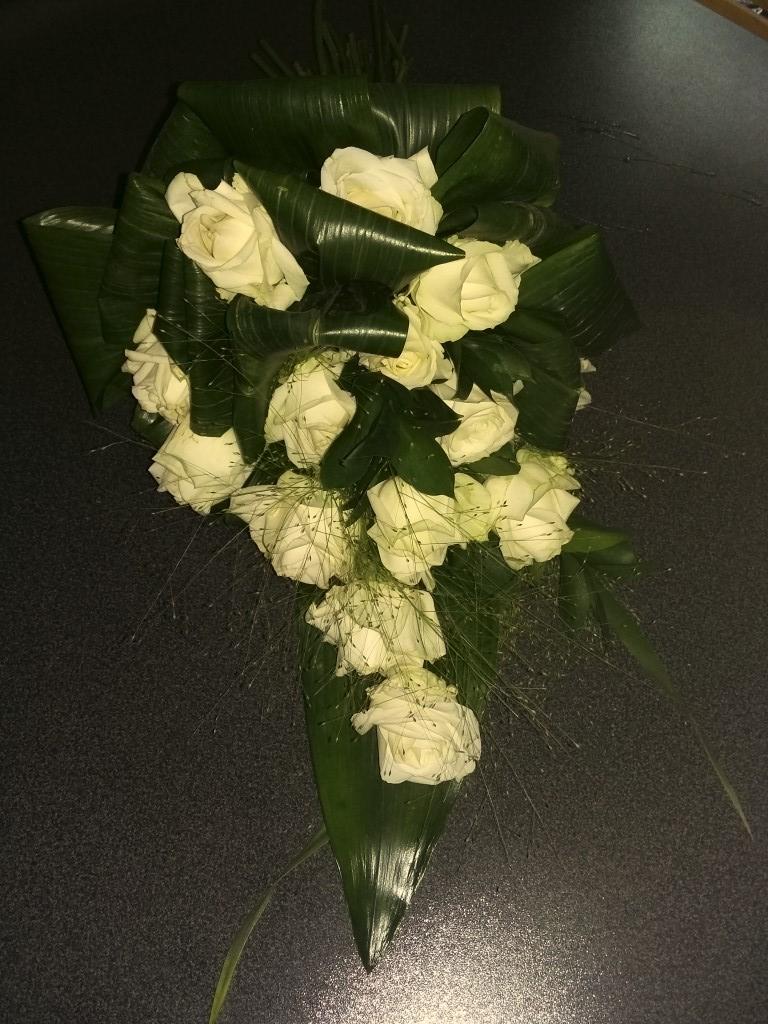 IB-016 | Handgebonden rouwboeket   Kristin M