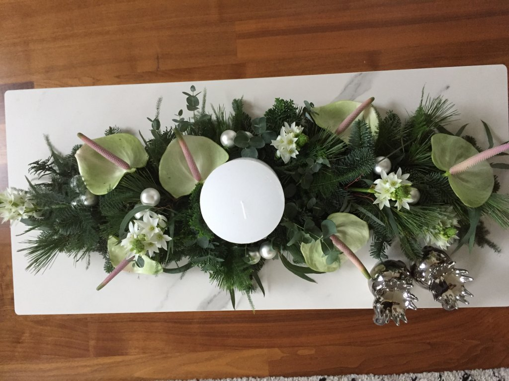 IB-076 | Kersttafelarrangement   Maria V