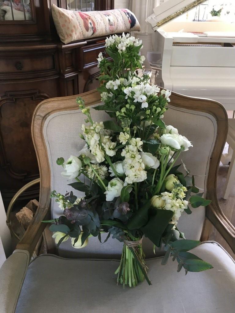 VO-041 | Handgebonden Mille-fleurs boeket   Ilona B