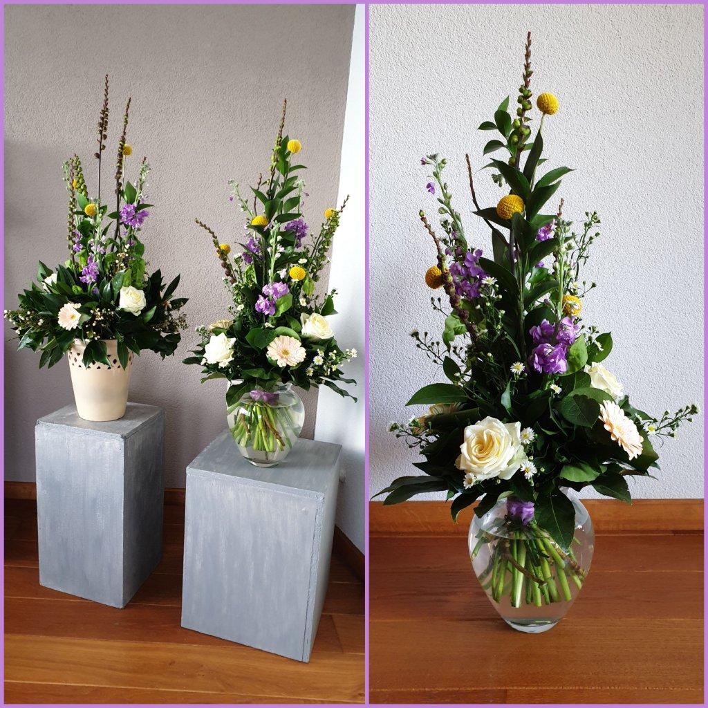 VO-041 | Handgebonden Mille-fleurs boeket   Ine CR