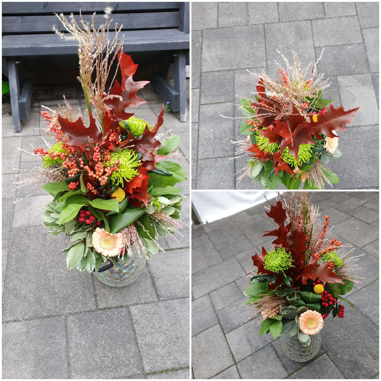 VO-041 | Handgebonden Mille-fleurs boeket   Marion t W