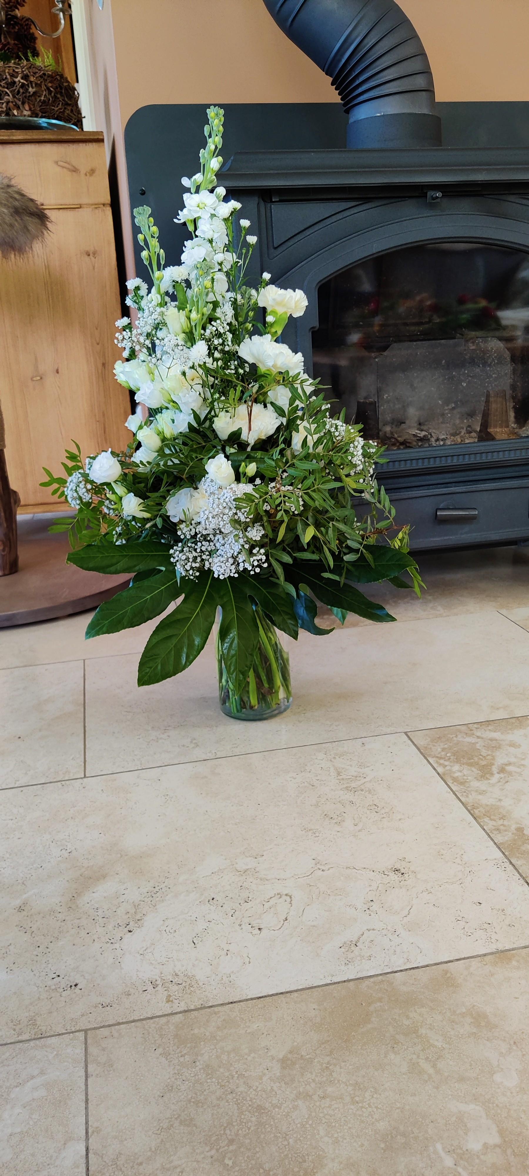 VO-041 | Handgebonden Mille-fleurs boeket   Melanie