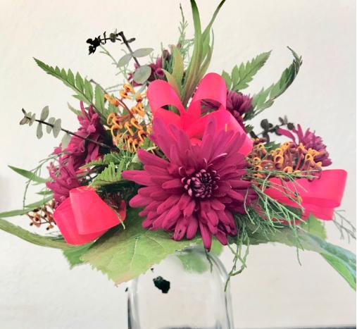 IB-007 | Biedermeier Bruidsboeket op Oasis bridy   Joke's bloemschikken