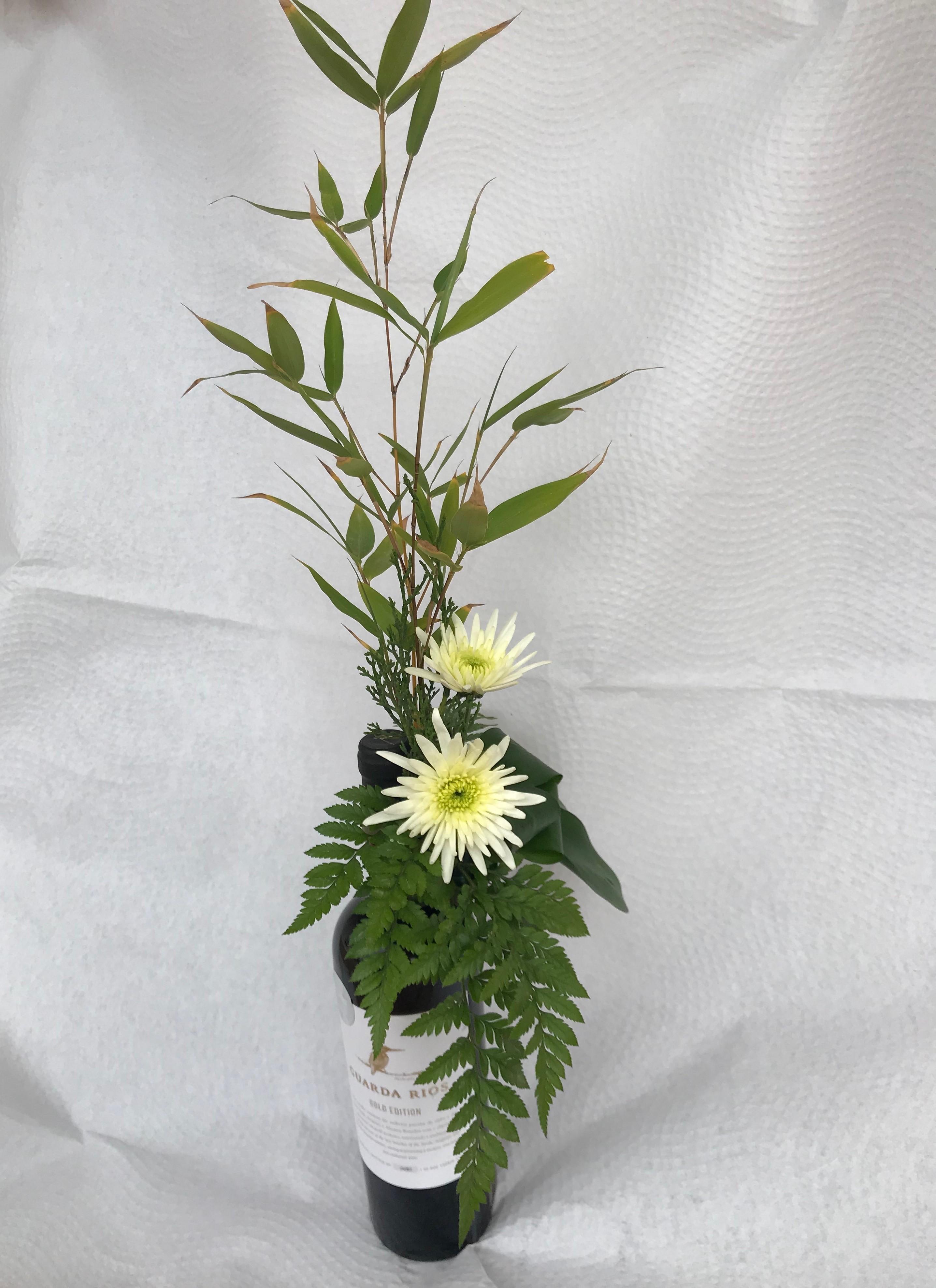 VO-015 | Flesversiering   Joke's bloemschikken