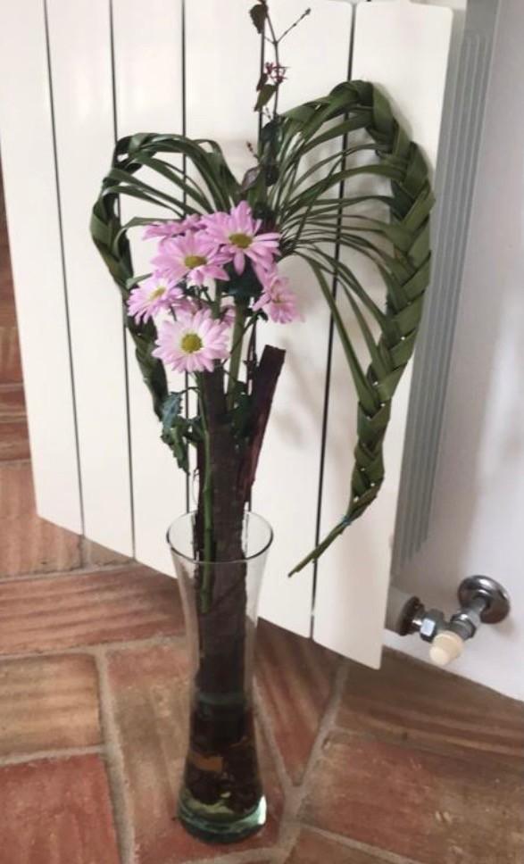 BG-005 | Gevlochten boeket   Joke's bloemschikken