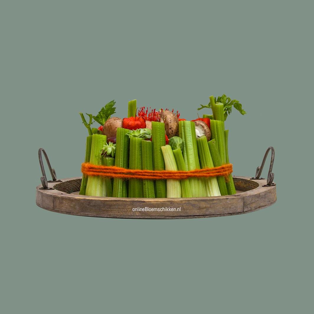 IB-074 | Groentetuintje en groentetaart