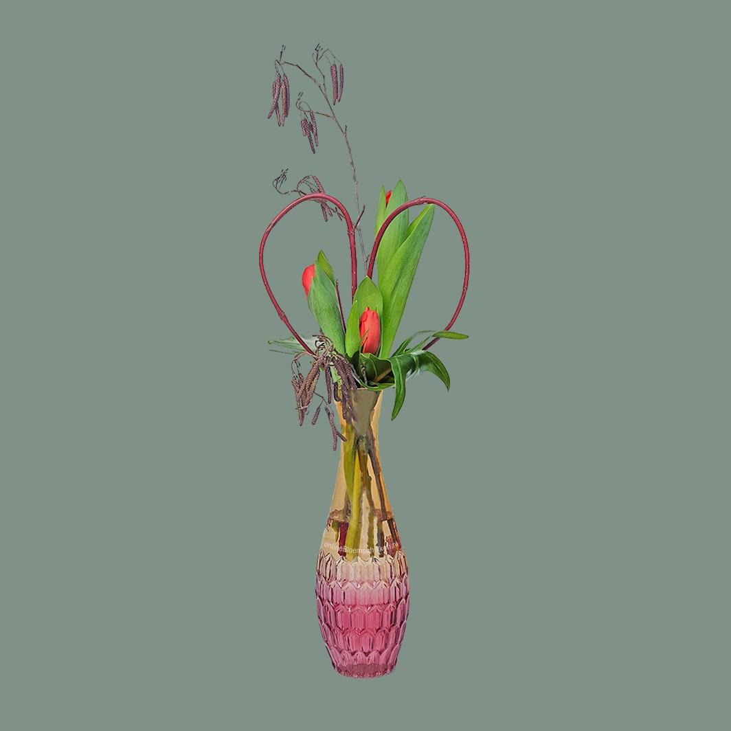 IB-114 | Drie tulpenboeketten