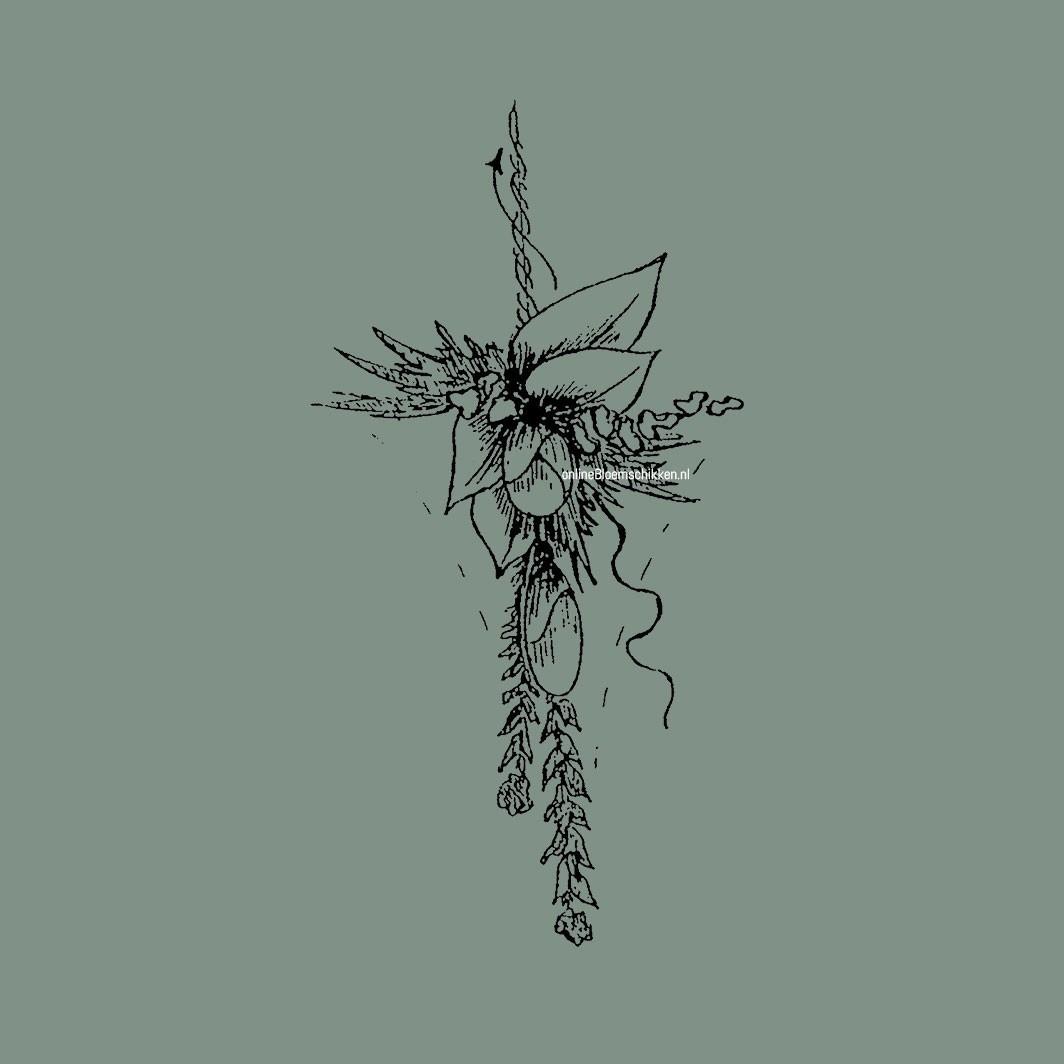 VO-023 | Schoudercorsage - op draad