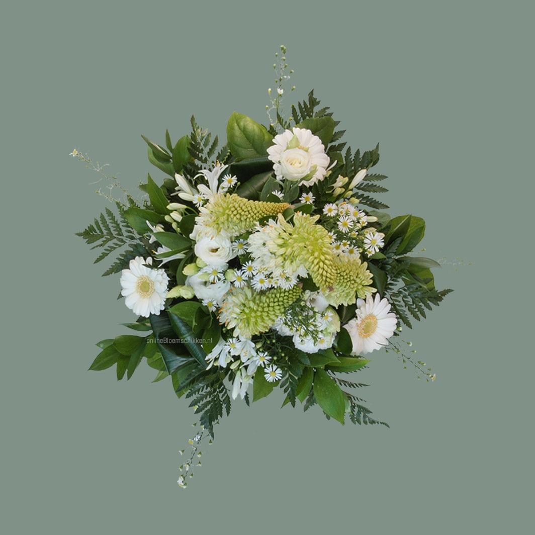 VO-041 | Handgebonden Mille-fleurs boeket