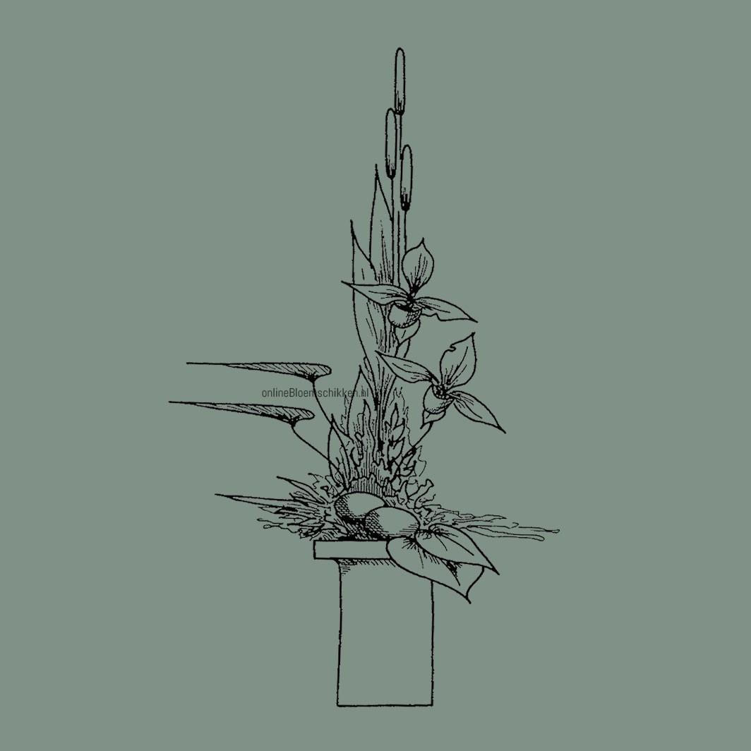 VO-012 | Vaasarrangement - lineair